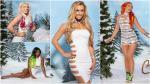 Las Divas de la WWE posaron en sensual sesión fotográfica por Navidad - Noticias de divas eeg