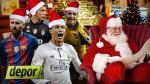 ¡Llegó Papá Noel! Lo que regalaríamos a los cracks mundiales por Navidad - Noticias de messi y sus amigos