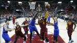 LeBron James lideró a Cavaliers en triunfo sobre Warriors por la NBA - Noticias de lebron james