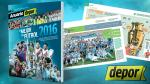 ¡No te quedes sin tu Anuario Depor con lo mejor del 2016! - Noticias de peruanos en el mundo