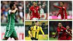 Con Pizarro: los latinos nominados al XI de la primera rueda de la Bundesliga - Noticias de bundesliga