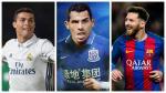 Millones por doquier: el ránking de los jugadores mejor pagados del mundo - Noticias de corinthians