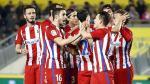 Atlético de Madrid le ganó 2-0 a Las Palmas en la ida de octavos por Copa del Rey - Noticias de simon estadio