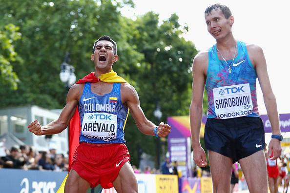 Oro sorpresivo de Colombia en el mundial de Atletismo